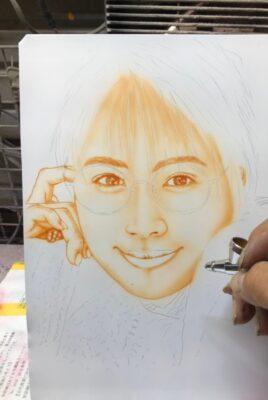 人物画の練習( ゚Д゚)b