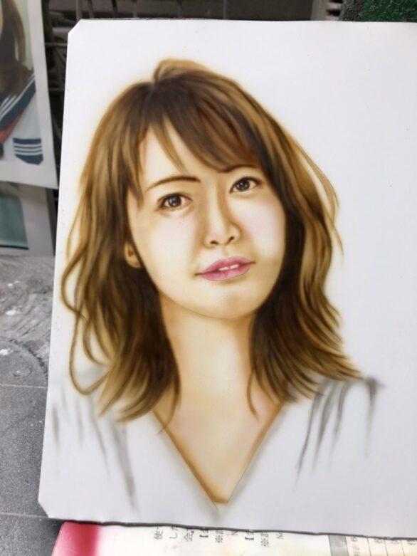 人物画の練習( ˙▿︎˙ )b|塗装・カスタムペイント・エアブラシetc..